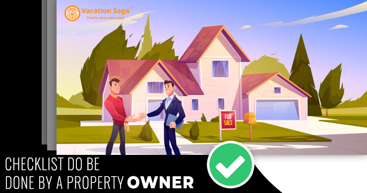CheckList To Be Done By A Property Owner